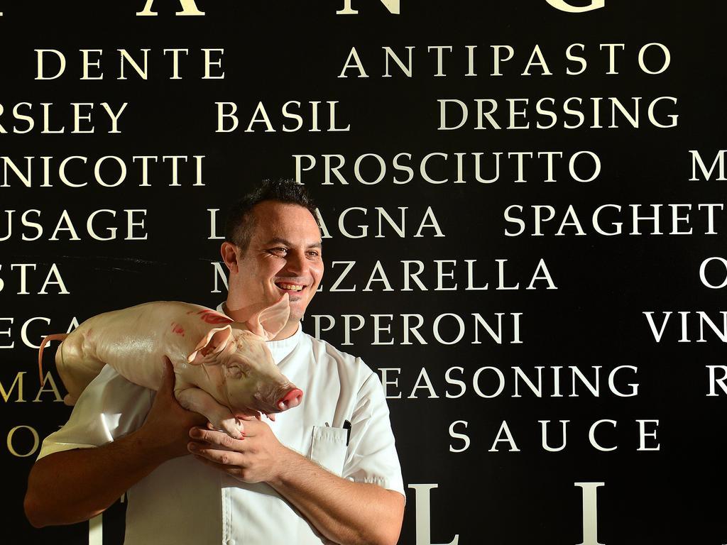 Noosa Waterfront Restaurant, Noosaville. owner and chef Andrea Ravezzani.