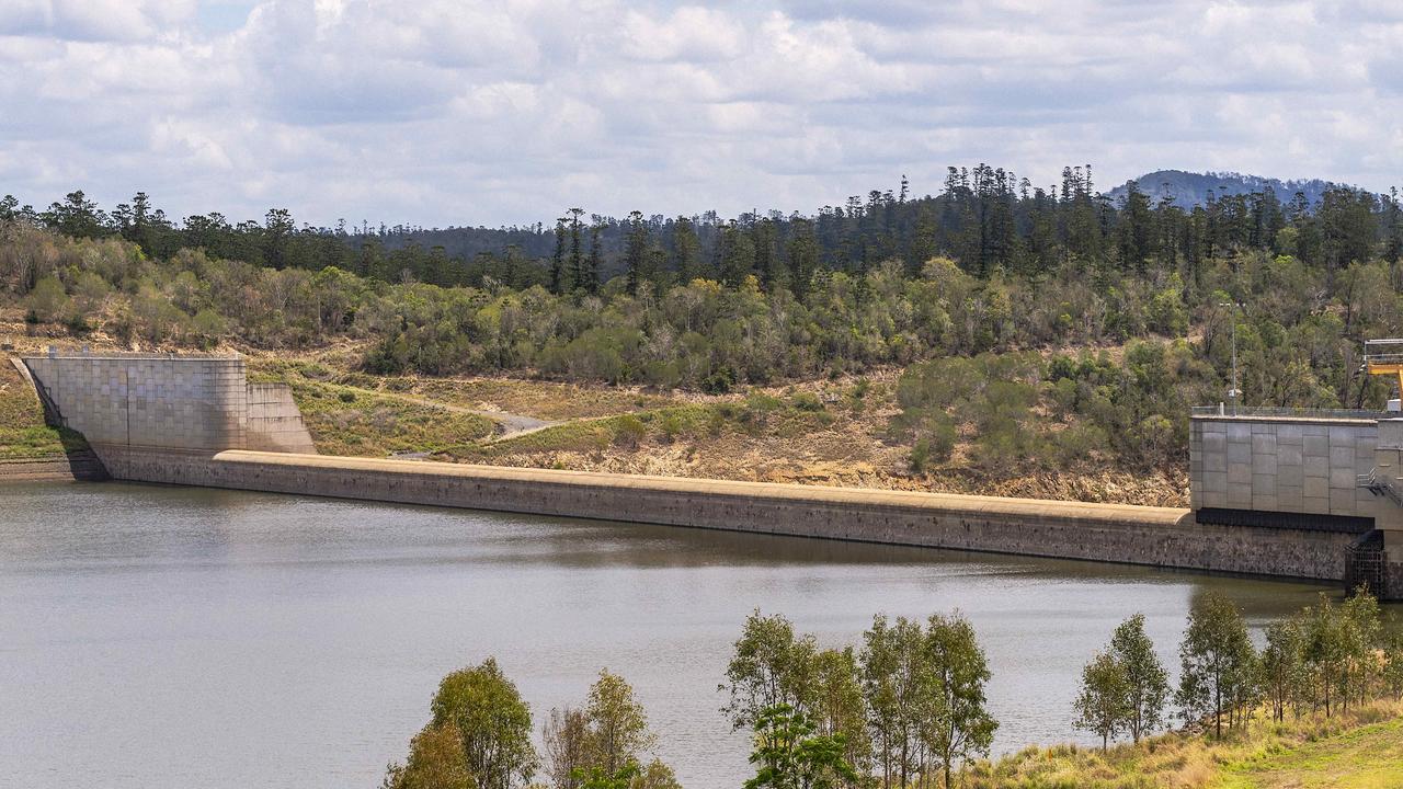 News 31.10.19 AUS Paradise Dam at Coringa QLD. Pic John Wilson