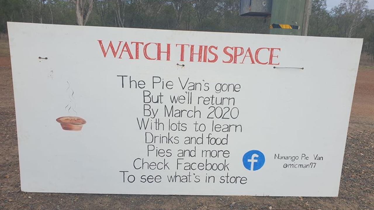 WHO BOUGHT IT? The Mangan family from South Nanango are the newest owners of the Nanango Pie Van. Picture: Lyn Mangan