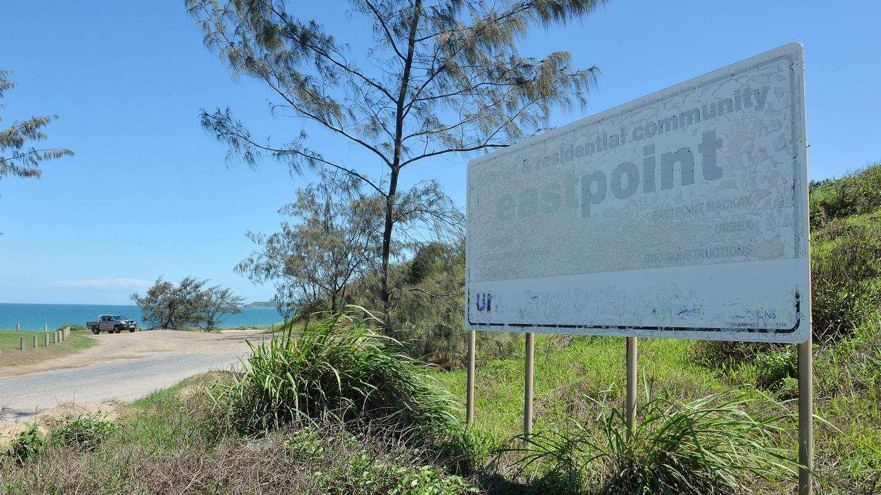 The future of Mackay's East Point development hangs in the balance.