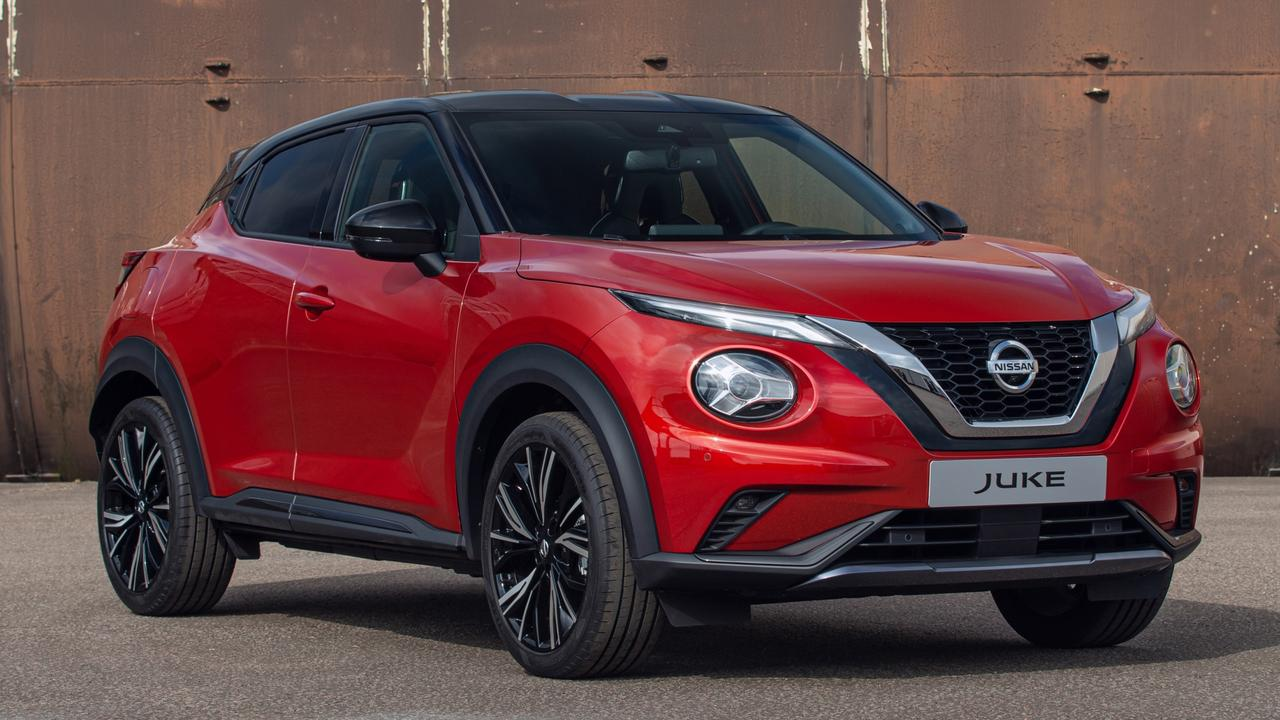 The Nissan Juke brings head-turning styling to the city SUV class. Picture: Supplied.