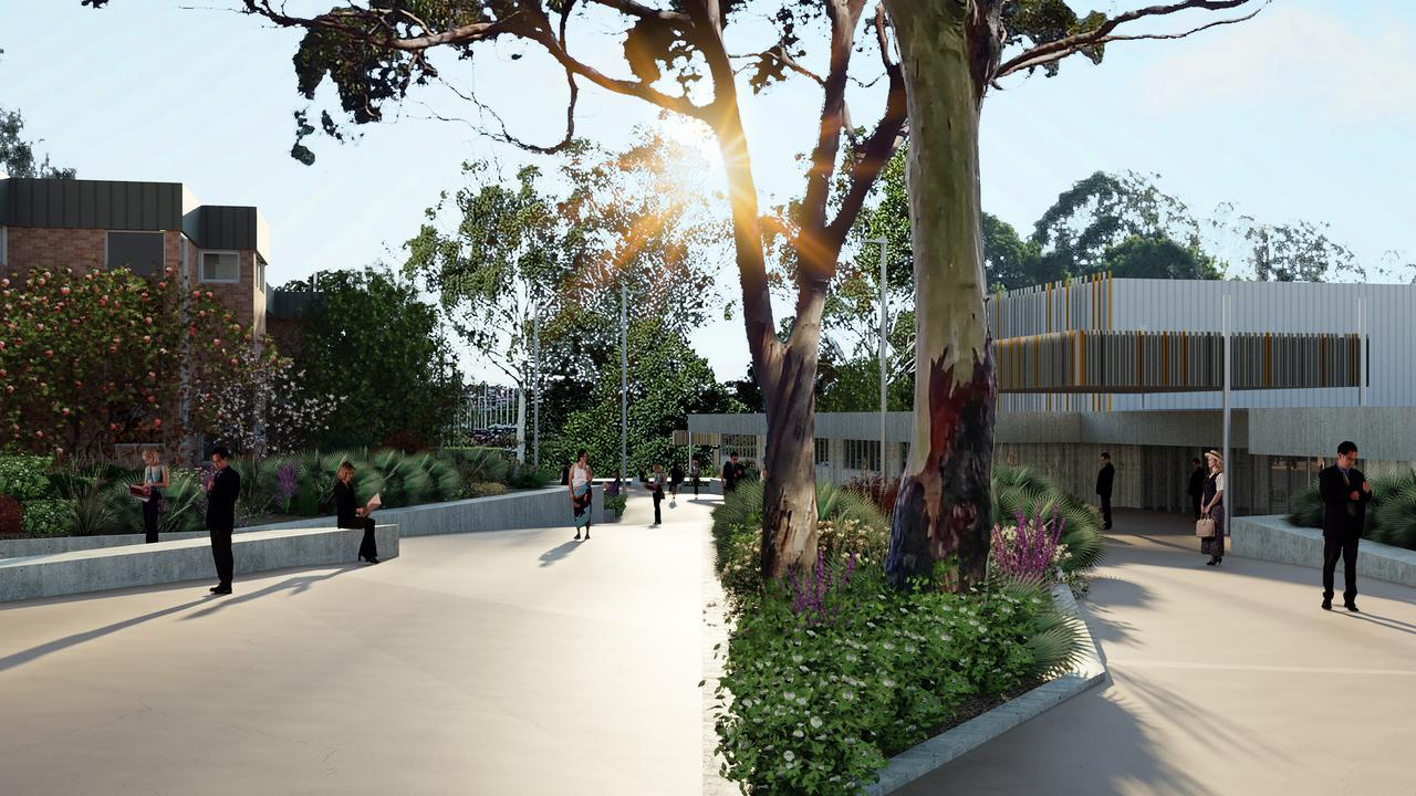 Artist impressions of what the new entry to USQ will look like.