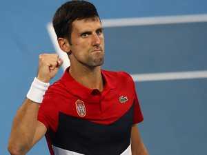 Djokovic seals victory for Serbia, Austria crash out