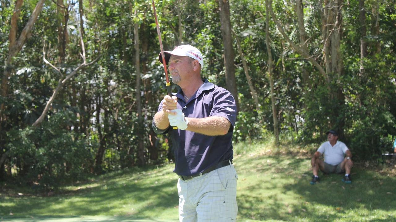 Sunshine Coast golfer Brad Burns finished the 2019 PGA Legends Tour on top of the Order of Merit standings. Photo: PGA Australia