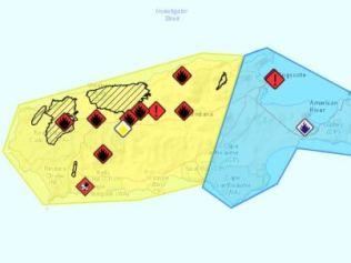 Half of Kangaroo Island has been razed after horror bushfires raged through Friday.