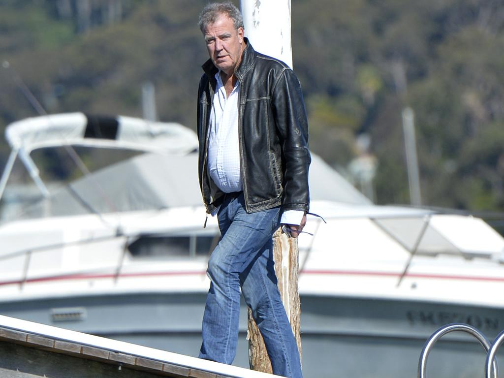 Former Top Gear show host Jeremy Clarkson enjoying Sydney. Picture: Supplied