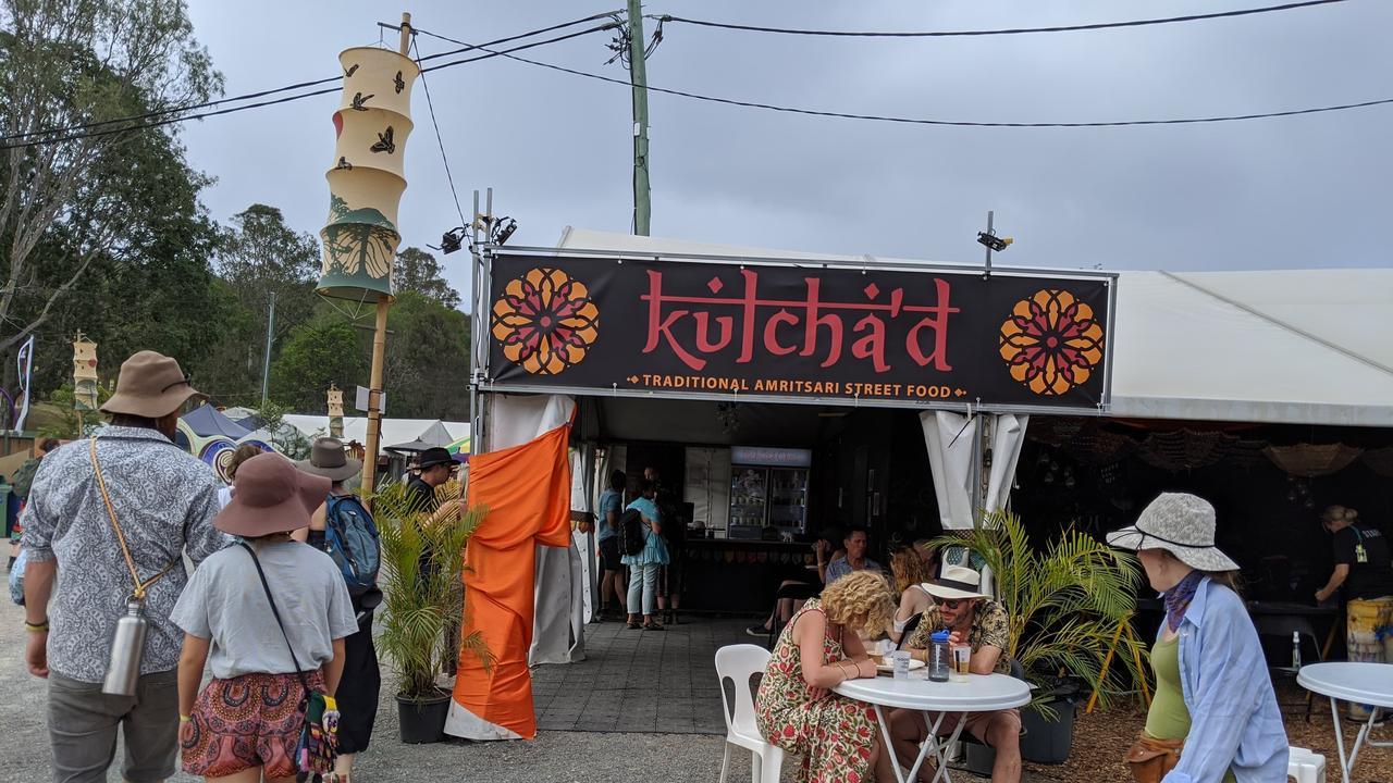The Kulcha'd store at Woodford Folk Festival.