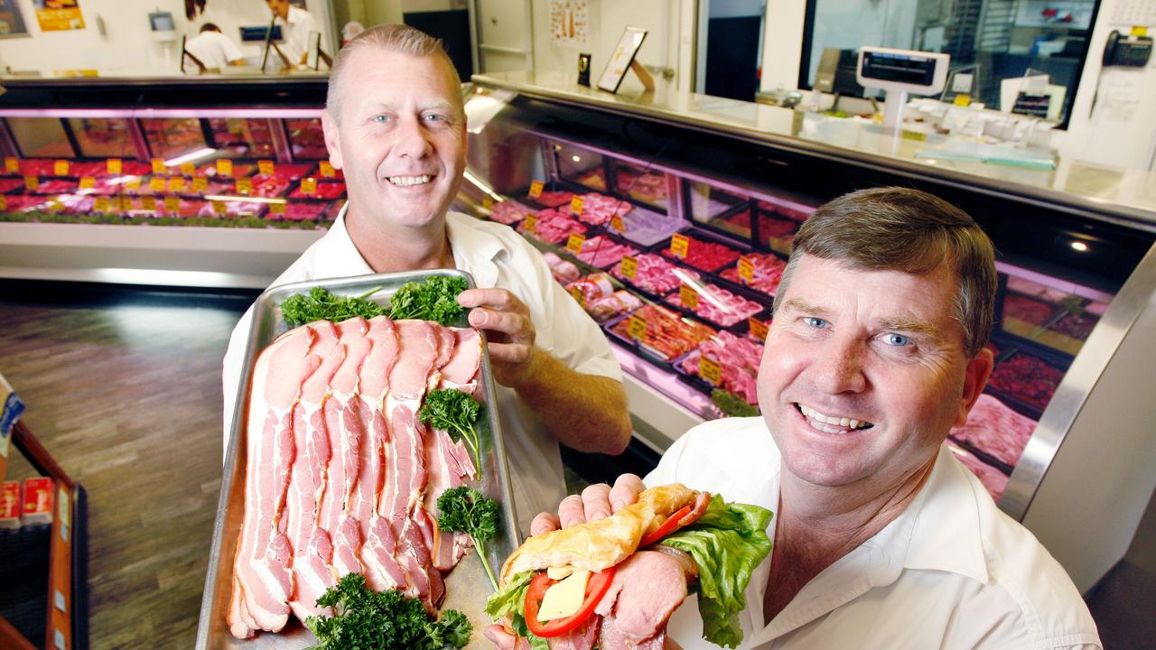 DIGGING DEEP: The team at Schulte's Meat Tavern pledged to donate five dollars from each sale made on Saturday to the Queensland Rural Fire Brigade. Photo: Sarah Harvey