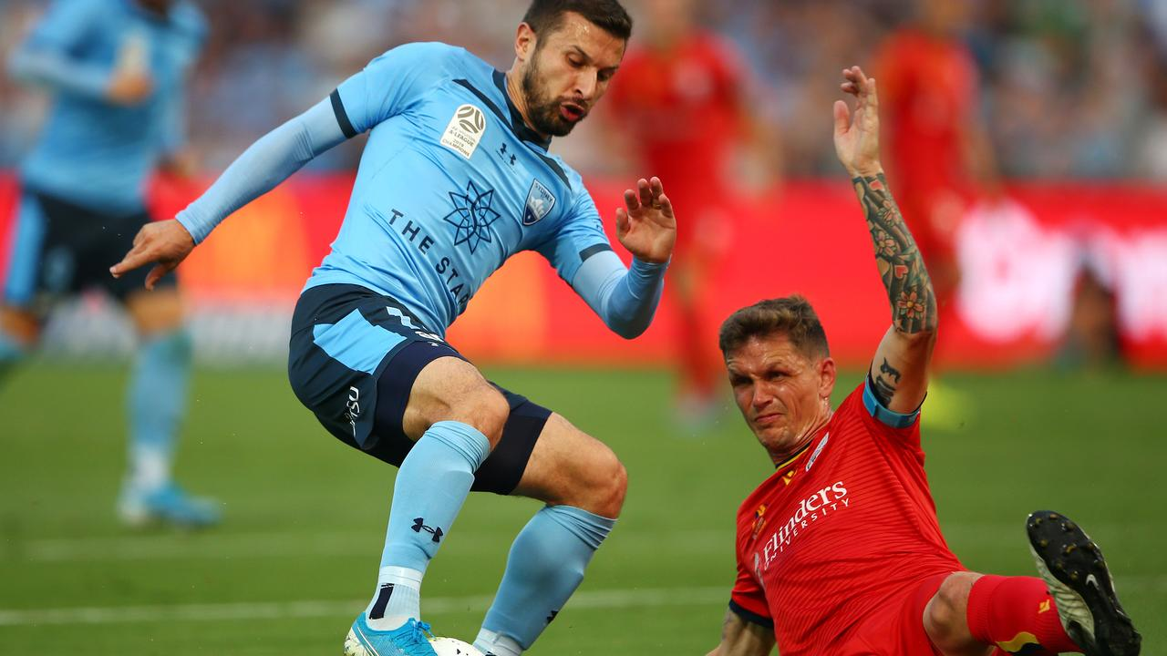 Kosta Barbarouses of Sydney FC. Picture: Getty Images