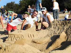 PHOTOS: Impressive sandcastles built for charity