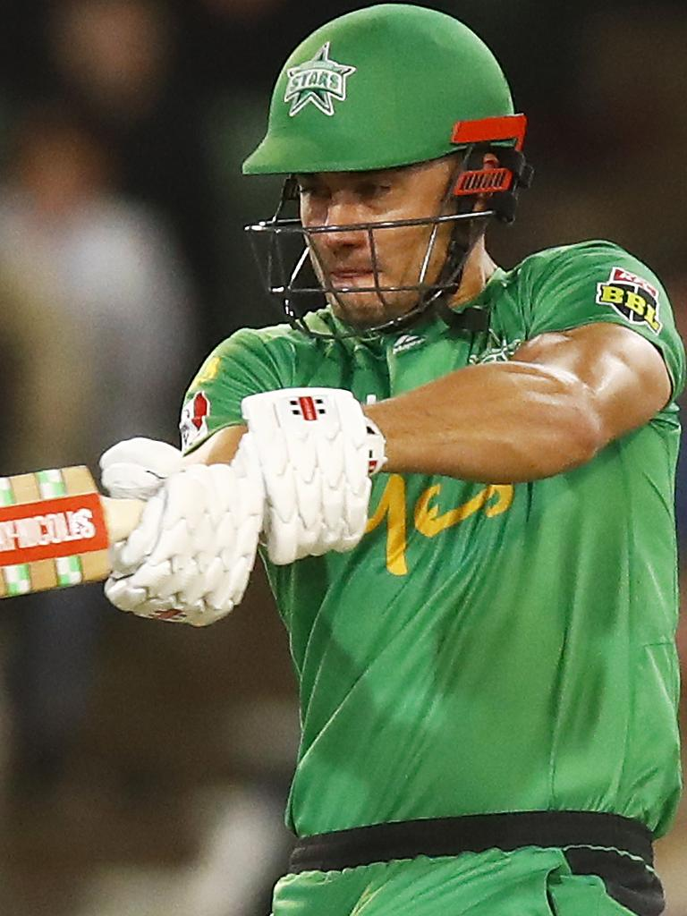 Marcus Stoinis helped the Stars to a big win. Pic: Getty Images