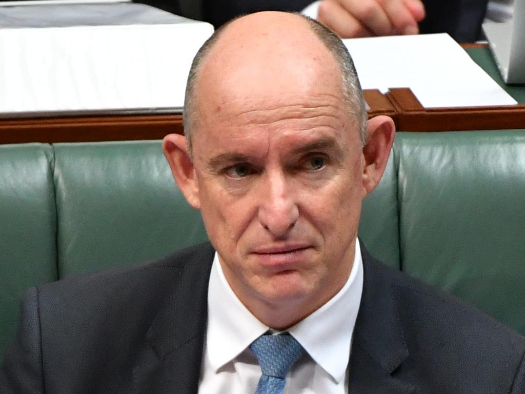 """Government Services Minister Stuart Robert said they need to meet fraud """"head-on"""". Picture: AAP/Mick Tsikas"""