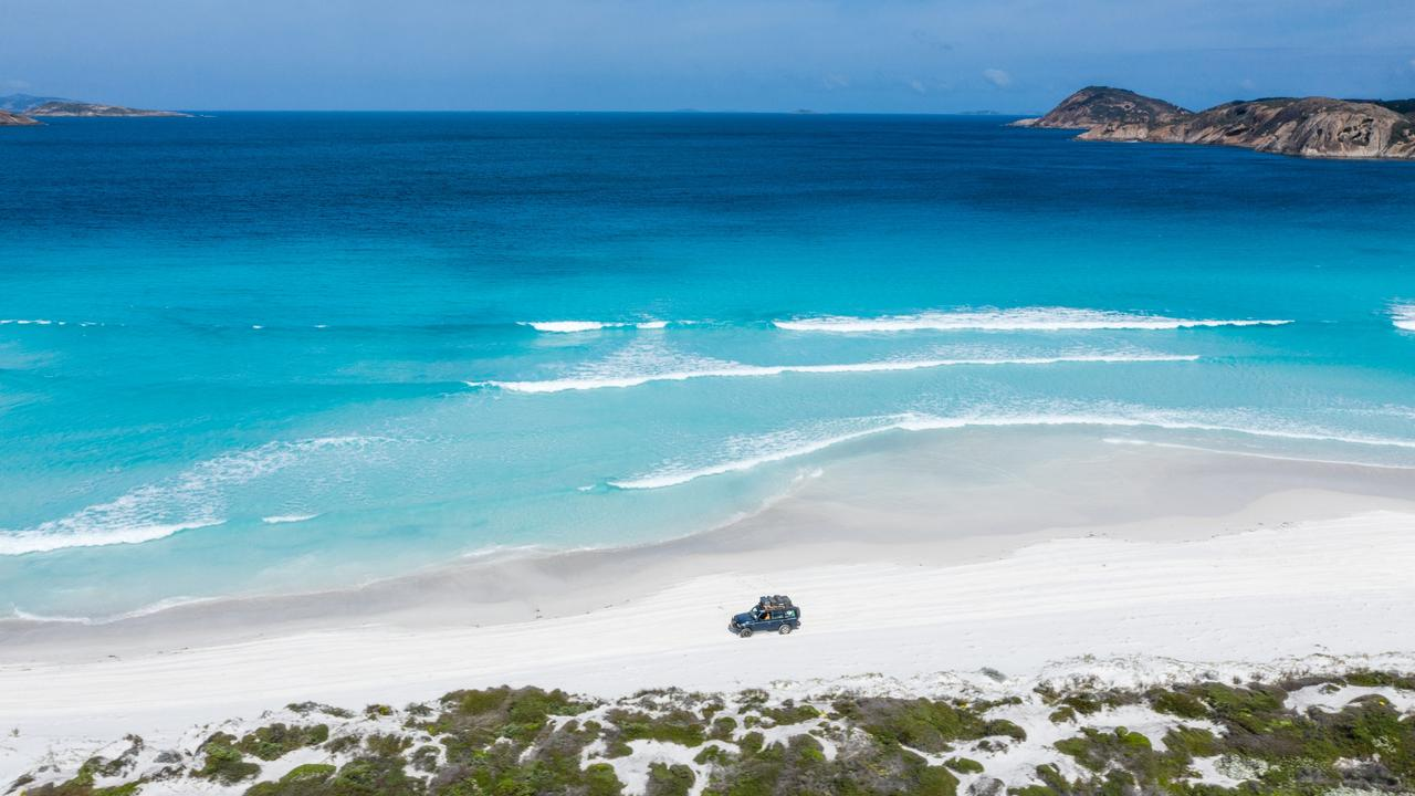 A man has died after being bitten by a shark near Esperance. Picture: Tourism Australia