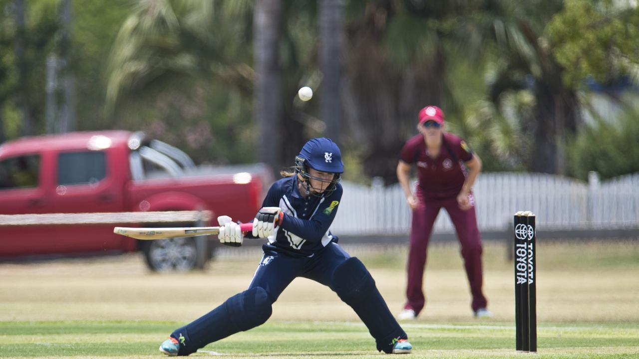 Victoria captain Teagan Parker scored 47 runs against Queensland.