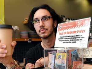 Popular cafe rallies for bushfire victims