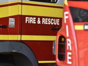 Blaze burning in Boyne Valley