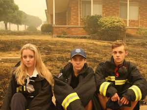 Gould siblings battle Batlow inferno to save homes