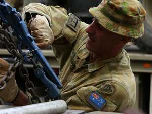 Army digs in on NSW bushfire frontline