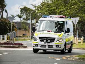 Man hospitalised after single-vehicle highway crash
