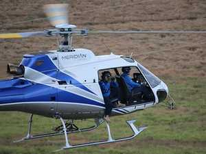 Aerial patrols seek out electricity network faults