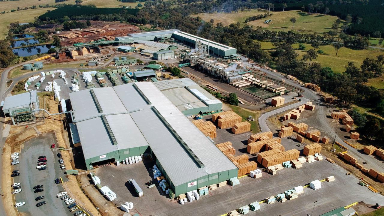 Hyne Timber's Tumbarumba Mill.