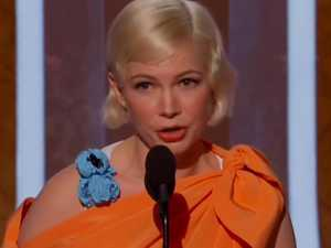 Michelle Williams' 'brilliant' Globes speech
