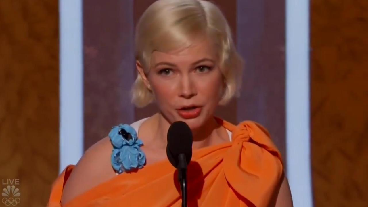 Michelle Williams gave an incredible speech at the Golden Globes.