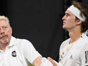 Tennis shocked by 'distressing' meltdown