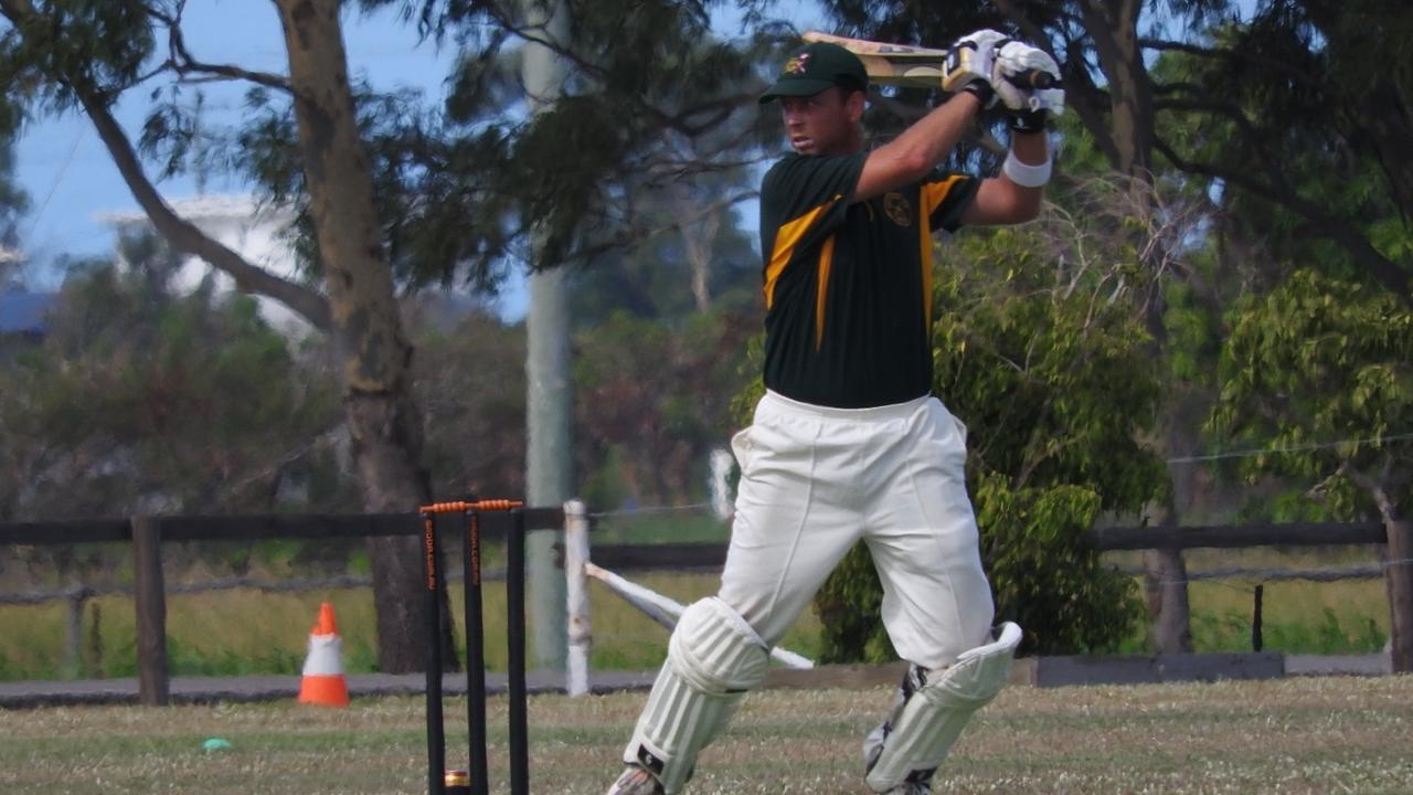Lee Watts at the Watts Shield cricket day.