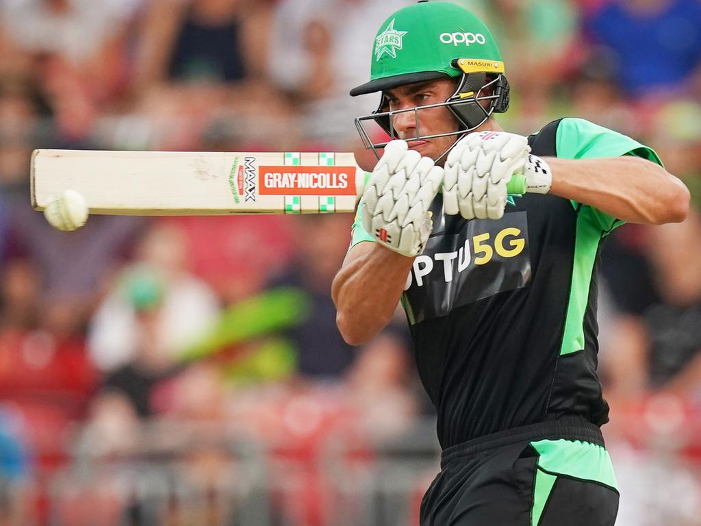 Batsman Marcus Stoinis escaped the latest grubby incident with a fine.