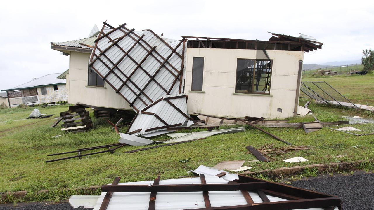 Property owners are dropping out of the insurance market in north Queensland due to skyrocketing insurance premiums linked to cyclones.