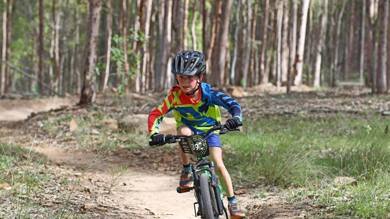 BIKE RACE: South Burnett Mountain Bike Club's Jack Weire (Photo: Contributed)