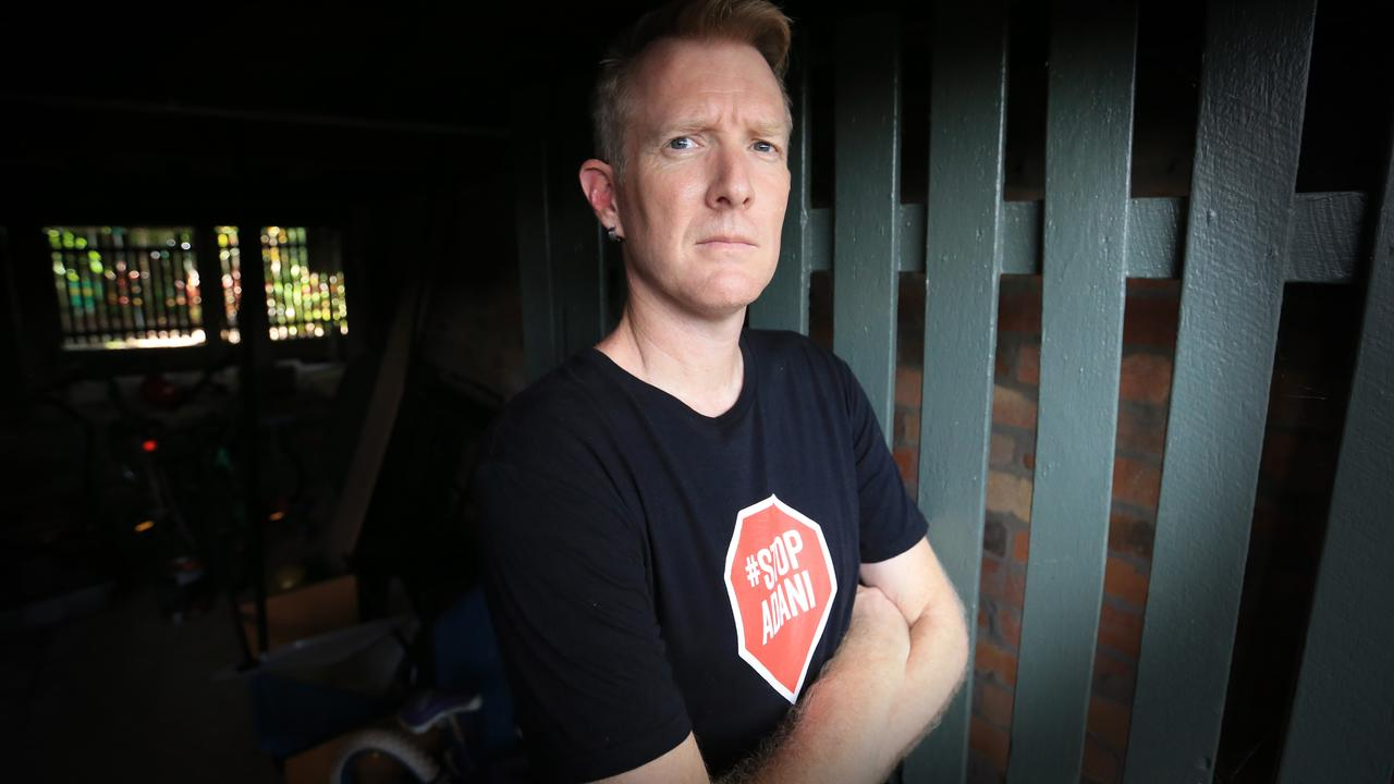 Galilee Blockage spokesman Ben Pennings. Picture: Jamie Hanson