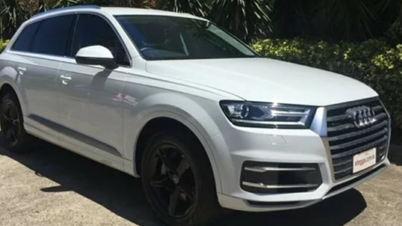 An Audi Quattro Q7 similar to the one for which Logan City Council paid $104,000.