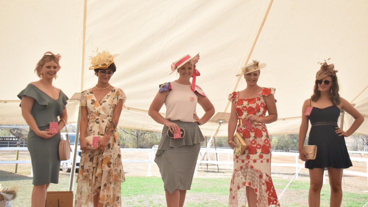 Fashion on the fields at the annual Bell Race Day 2020. (PICTURE: Tristan Evert)