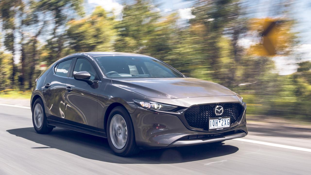 The Mazda3 tumbled down the sales chart in 2019.