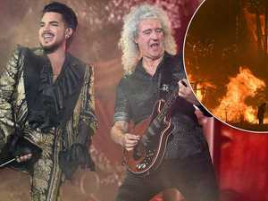 Queen tipped to headline bushfire concert