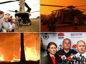 Two missing as ADF reservists join bushfire fight