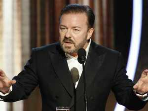 'Kill me': Gervais savages Golden Globes