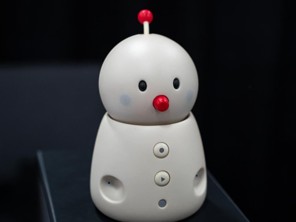 The Bocco Emo robot is an 'emotionally available' robot to be released later this year. Picture: Jennifer Dudley-Nicholson