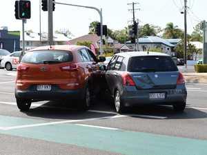 Car Crash Bourbong Street