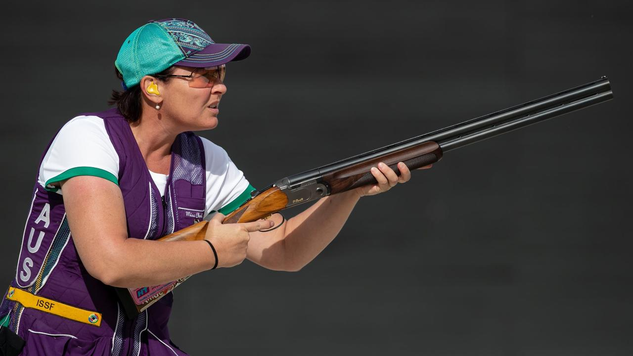 GOOD SHOT: Cherie Reeves at the OSF Championships in Sydney last year.