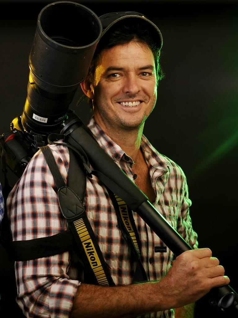 Advertiser photographer Brad Fleet.