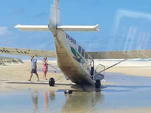 Pilot to be disciplined after Fraser Island plane nosedive