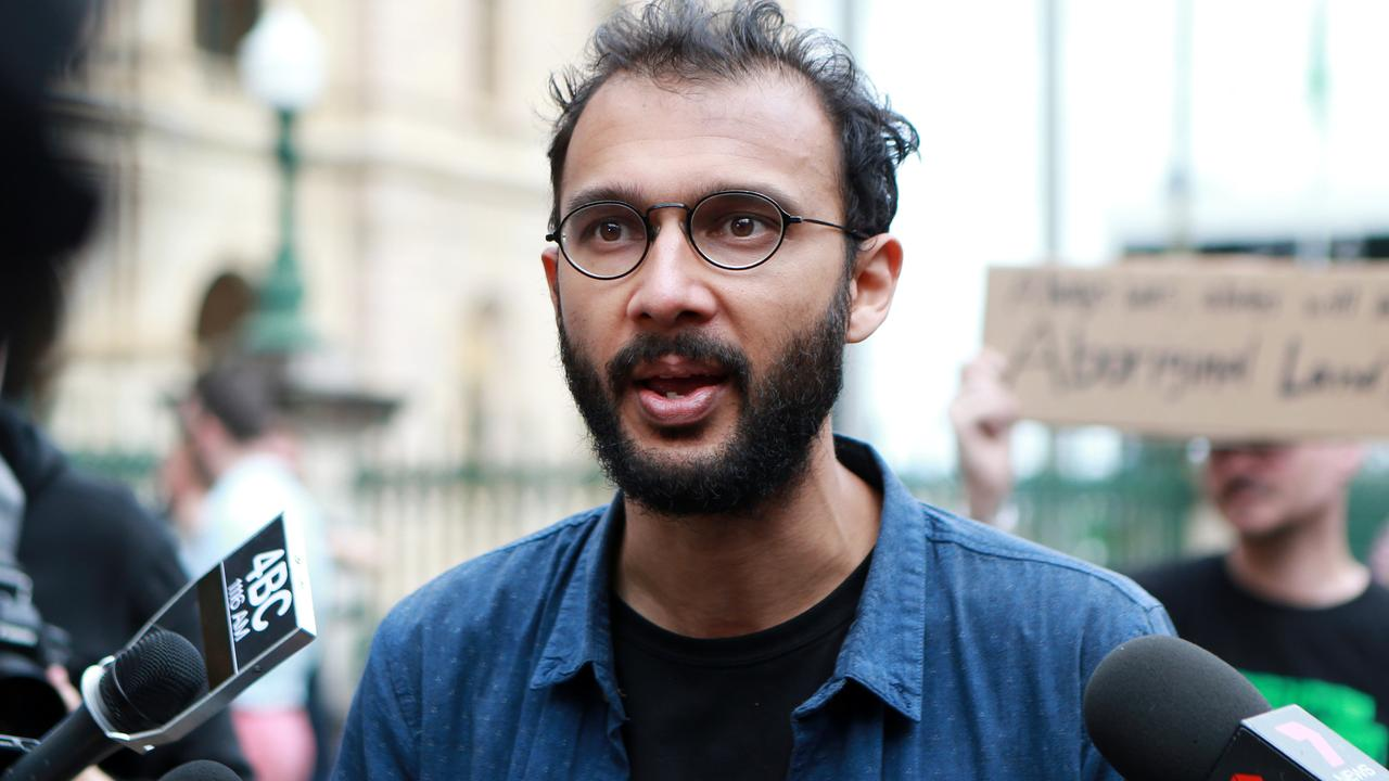 Councillor Jonathan Sri says Brisbane City Council are suppressing peaceful protest. Picture: AAP/Image Sarah Marshall