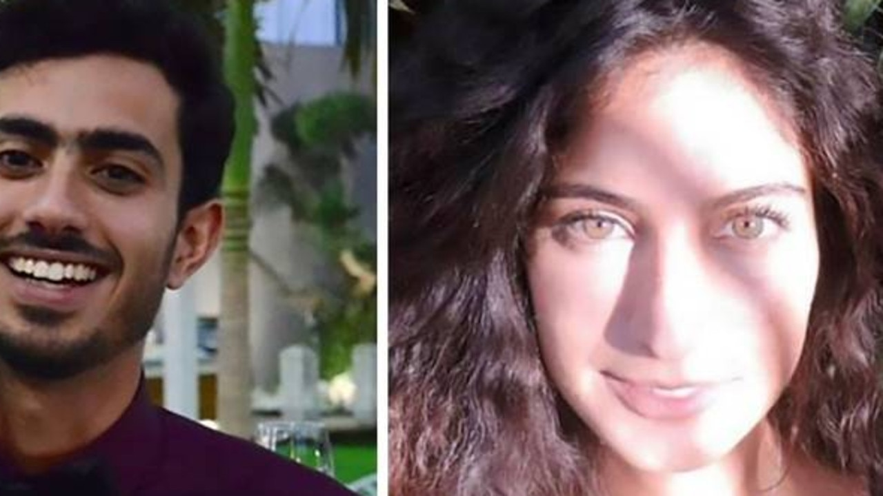 Dean Shoshani and Stav Harari, both 25, died after being trapped in an apartment lift filling with rising waters. Picture: CEN/australscope