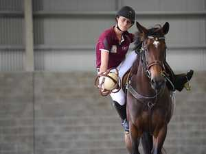 Meet the best young horseball rider in Australia
