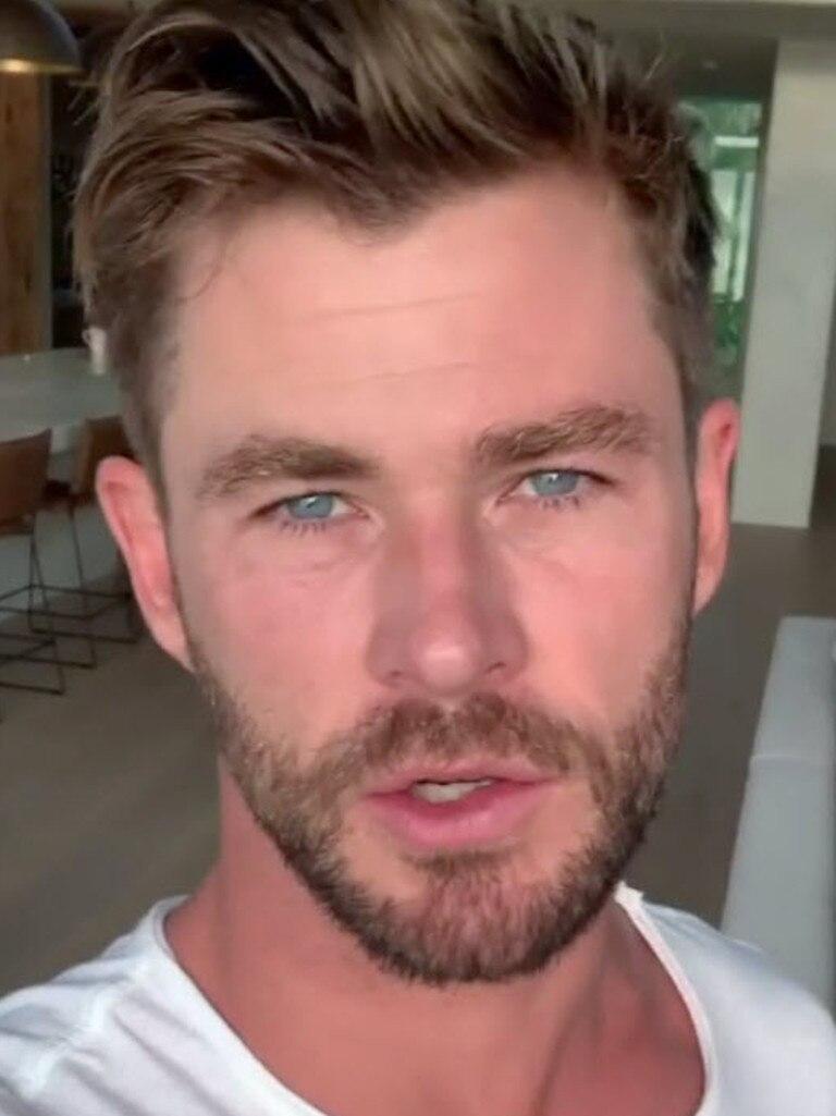 Chris Hemsworth is making a giant bushfire donation.