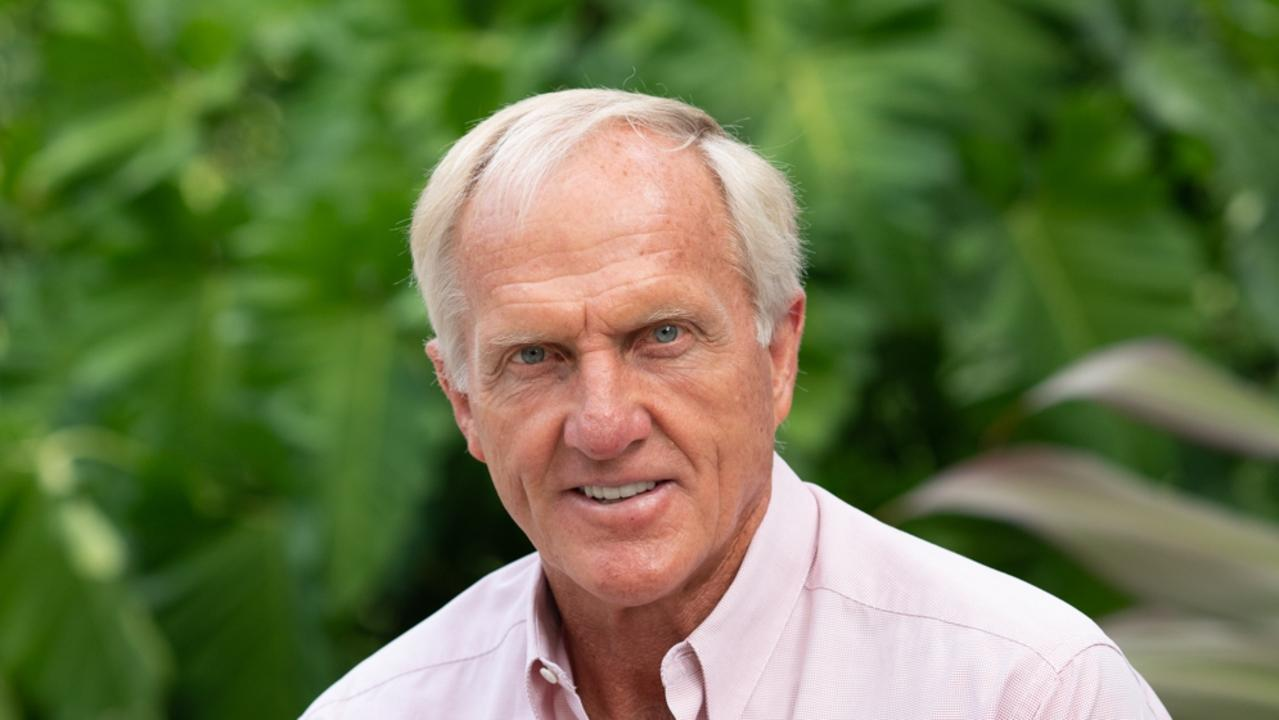 Greg Norman wants politicians to accept that climate change is happening worldwide.