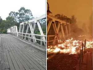 Before and after: What bushfires have done